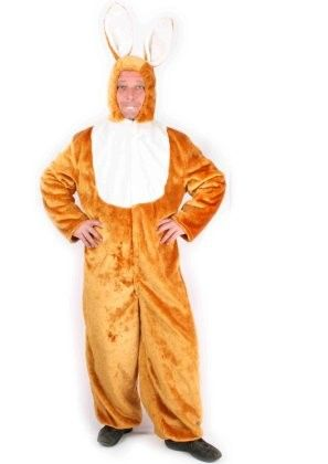 Easter bunny costume plush
