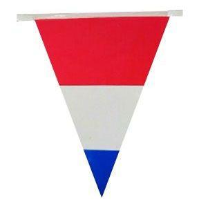 Flag line Dutch flag 60m party decoration