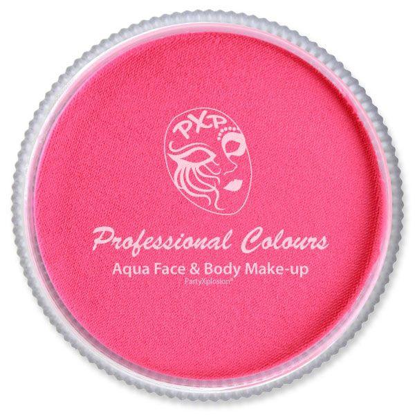 PXP Aqua face paint fluor pink PartyXplosion