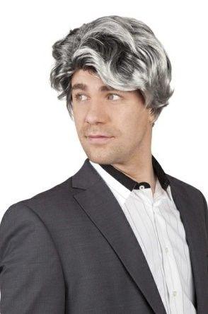 Men's wig Bill gray coupe