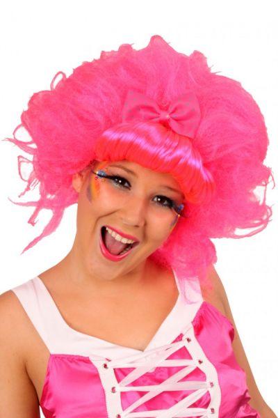Ladies wig Dip-dye Candy crush pink