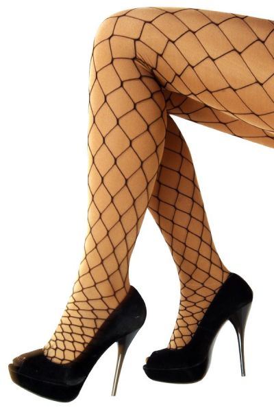 Net tights black coars