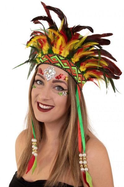 Indians feather headdress El Limbo