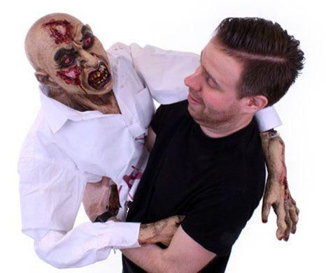 Halloween hand puppet Zombie
