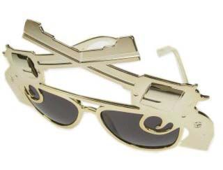 Mafia glasses with 2 pistols