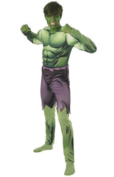 Hulk muscle chest man