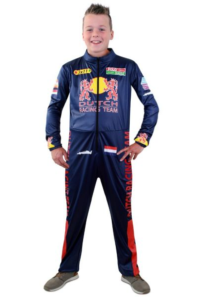 Formula 1 overall costume for children - F1 racing driver suit
