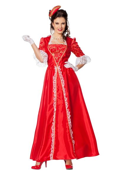 Fancy dress Marquise taffeta red