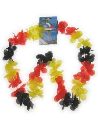 Hawaii garland black red yellow 12 pieces