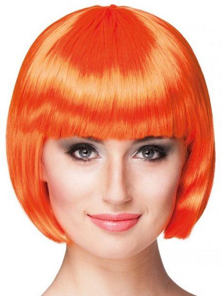 Wig orange with Bobline