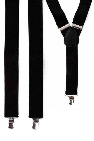 Suspenders color black