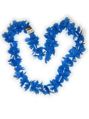 Hawaii necklace blue garland wreaths 12 piece