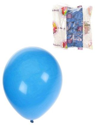 Helium balloons Blue 100 pieces