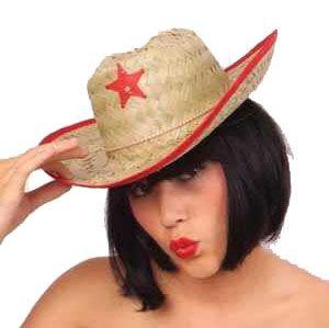 Cowboy hat straw child