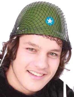 Soldier helmet camouflage