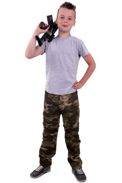 Camouflage pants for children