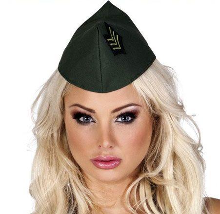 Soldiers cap boat for ladies