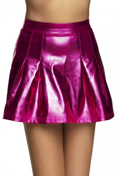 Mini skirt Shiny pink