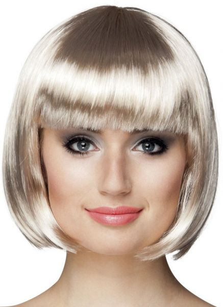 Ladies wig Bobline Platinum Blonde