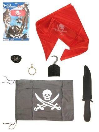 Pirate set 6 pieces
