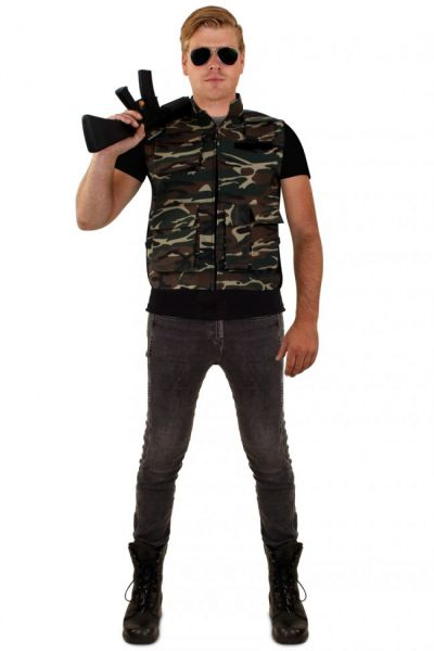 Camouflage vest men