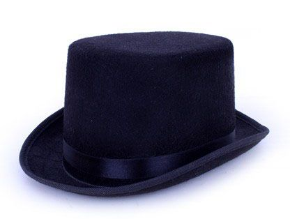 Cylinder hat high hat black