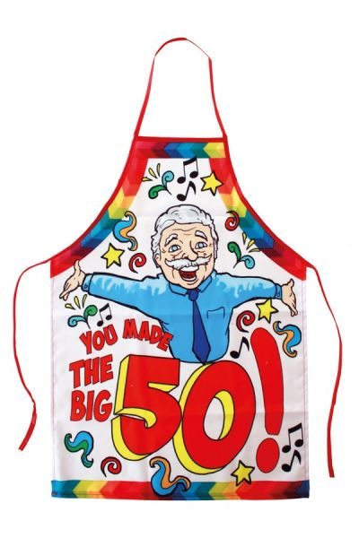 Cooking apron Abraham you made the big 50