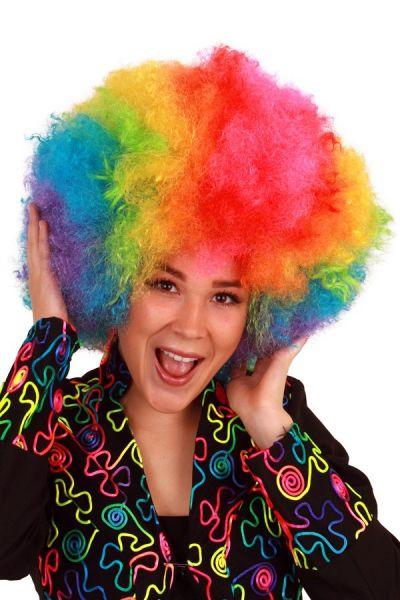 Rainbow wig wanted fine curls