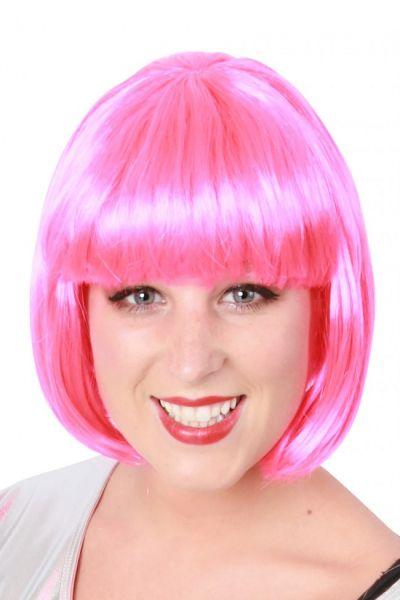 Bobline wig pink
