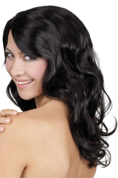 Ladie wig Celebrity black
