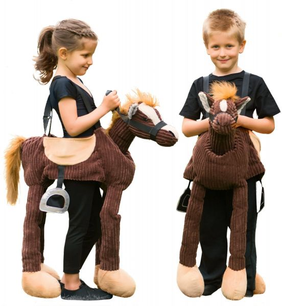 Pony carry me costume for children