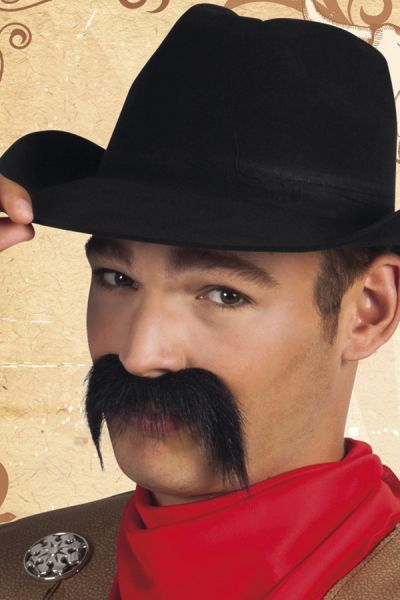 Black Gringo Mustache