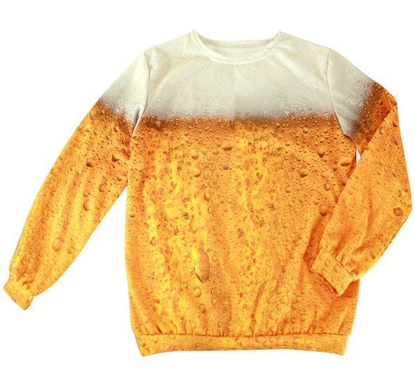 Funny beer sweater