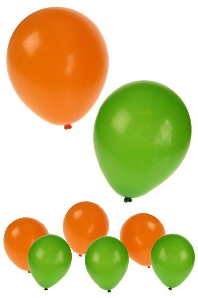 Balloons helium 30x orange green