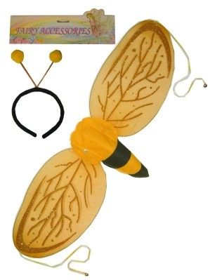Bee wings with diadem