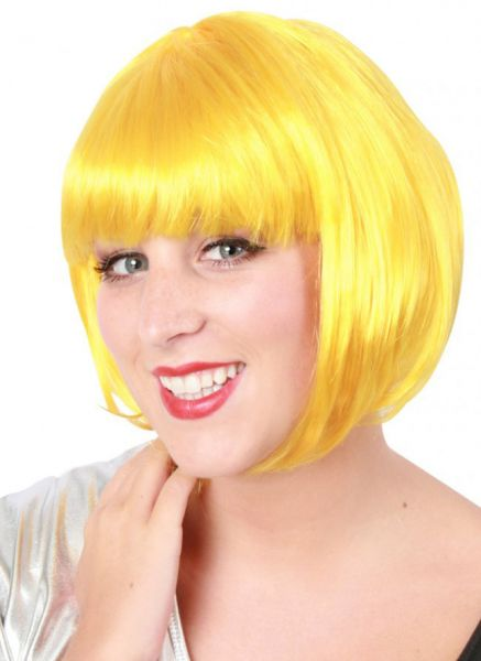 Bobline ladies wig yellow sensation