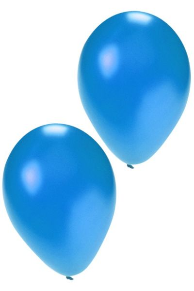 Quality balloons metallic blue 36 cm