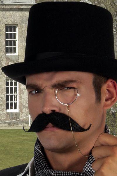 Black Baron mustache