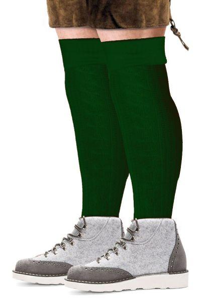 Oktoberfest Tyrolean socks long green
