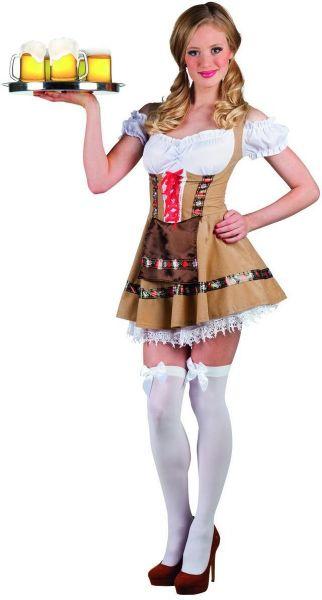 Oktoberfest Dirndl Dress tiroler girl Alpine
