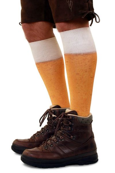 Oktoberfest beer football socks