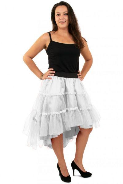 White petticoat sloping