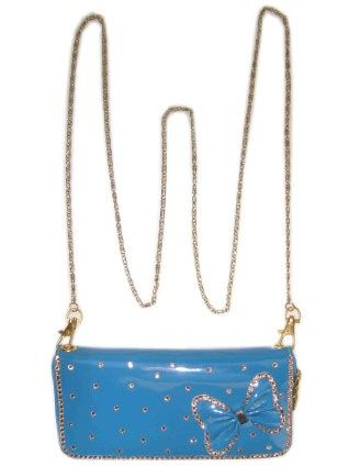 Shoulder bag skai blue