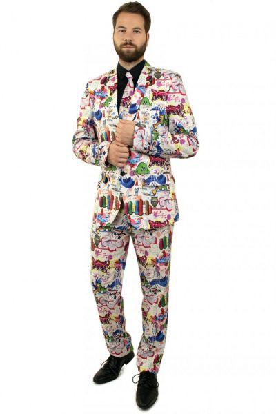 Funny 3-part Graffiti costume