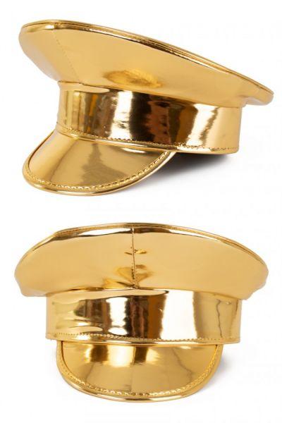 Shiny gold lacquer cap
