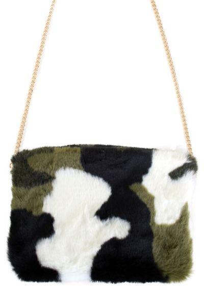Camouflage plushe bag