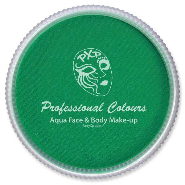 PXP Face paint Emerald Green FDA - EU PartyXplosion