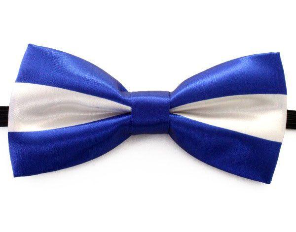 Bow tie luxury luxury blue white