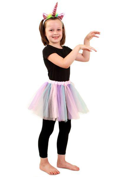 Tulle skirt pastel unicorn girl