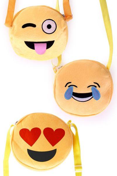 3 Emoti Smiley Shoulder bagscon